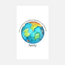 Earth Mama Rectangle Sticker 50 pk)