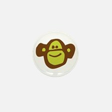 Funny Sockmonkey Mini Button (10 pack)