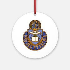 Chaplain Crest Ornament (Round)