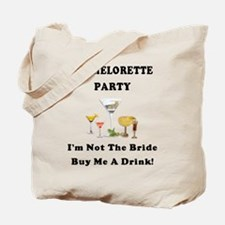 Bachelorette Party Drinks Tote Bag