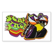 Scat Pack Rectangle Decal