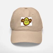 Siansburys Sock Monkey Logo Baseball Baseball Cap