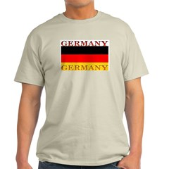 Germany German Flag Ash Grey T-Shirt
