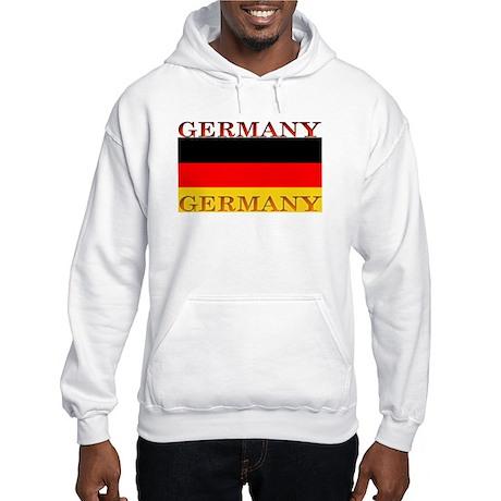 Germany German Flag Hooded Sweatshirt