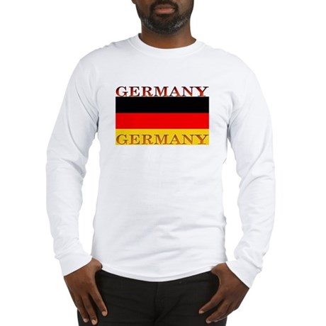 Germany German Flag Long Sleeve T-Shirt