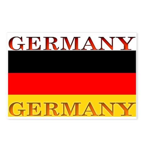 Germany German Flag Postcards (Package of 8)