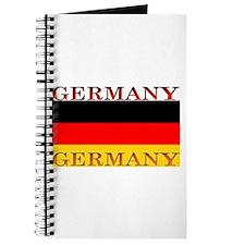 Germany German Flag Journal