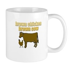 Brown Chicken Brown Cow! Mug