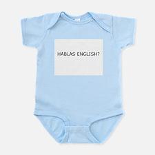 Hablas English? Infant Creeper