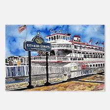 savannah queen river boat Geo Postcards (Package o