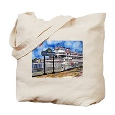 savannah queen river boat Geo Tote Bag