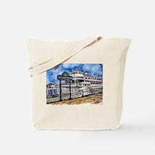 savannah queen river boat Geo Tote Bag