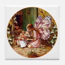 Thumbelina Tile Coaster