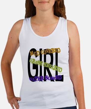 Mud covered Grass smeared Water soaked GIRL Women'
