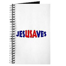 Unique Jesus saves Journal