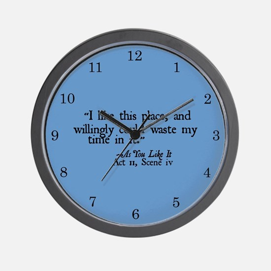 Waste My Time Clock