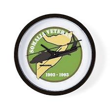 Somalia Veteran... Wall Clock