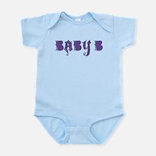 Grunge baby b (purple) Infant Bodysuit