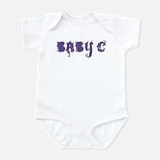 Grunge Baby c (purple) Infant Bodysuit