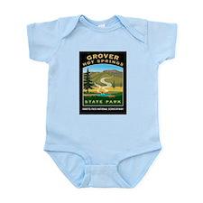 Grover Hot Springs - Infant Bodysuit