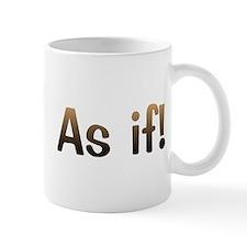 CW As If Mug