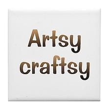 CW Artsy Tile Coaster