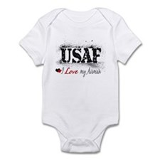 Love my Airman Infant Bodysuit