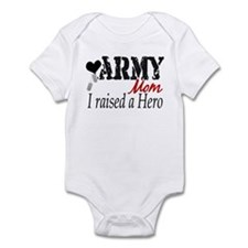 Raised a Hero Infant Bodysuit