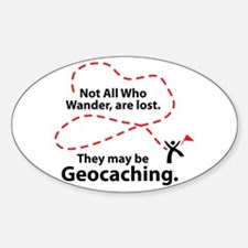 GEO Wander Oval Decal