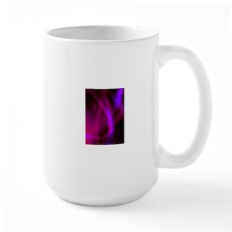 Large Purple Swirl Mug