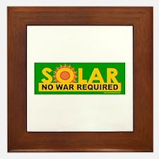 Solar ... Anti-War Framed Tile