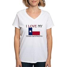I Love My Texas Boyfriend Shirt