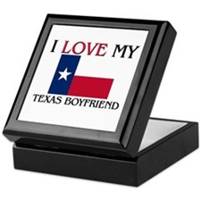 I Love My Texas Boyfriend Keepsake Box