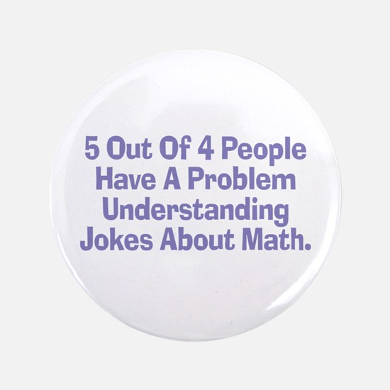 "Math Jokes 3.5"" Button"