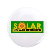 "Solar ... Anti-War 3.5"" Button (100 pack)"