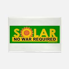 Solar ... Anti-War Rectangle Magnet