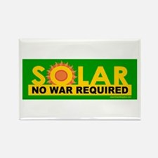 Solar ... Anti-War Rectangle Magnet (100 pack)