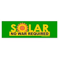Solar ... Anti-War Bumper Sticker (10 pk)