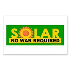 Solar ... Anti-War Rectangle Decal