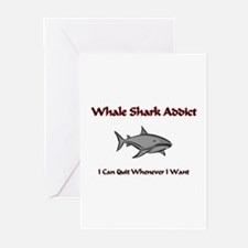 Whale Shark Addict Greeting Cards (Pk of 10)