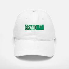 Grand Street in NY Baseball Baseball Cap