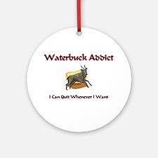 Waterbuck Addict Ornament (Round)