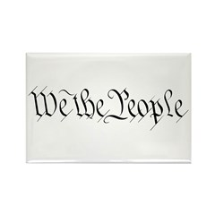 We the People Rectangle Magnet (10 pack)