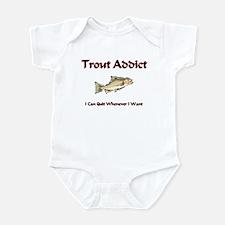Trout Addict Infant Bodysuit