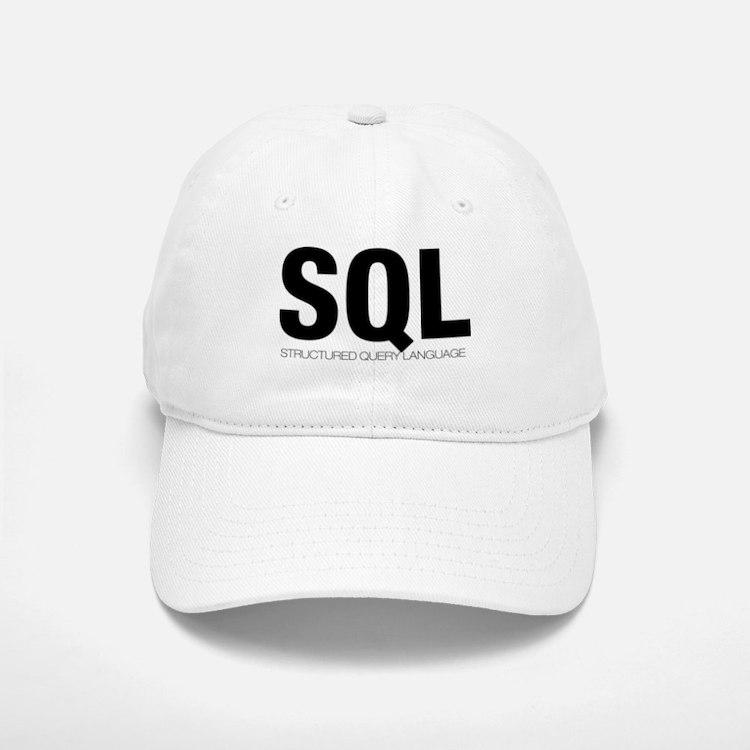 SQL Baseball Baseball Cap