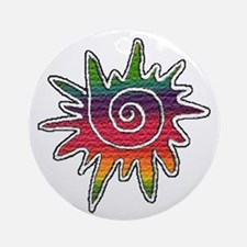 Rainbows Ornament (Round)