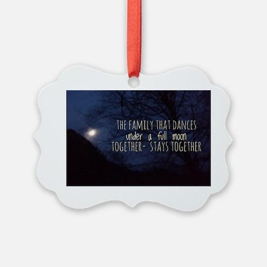 Magickal Family/Full Moon Ornament