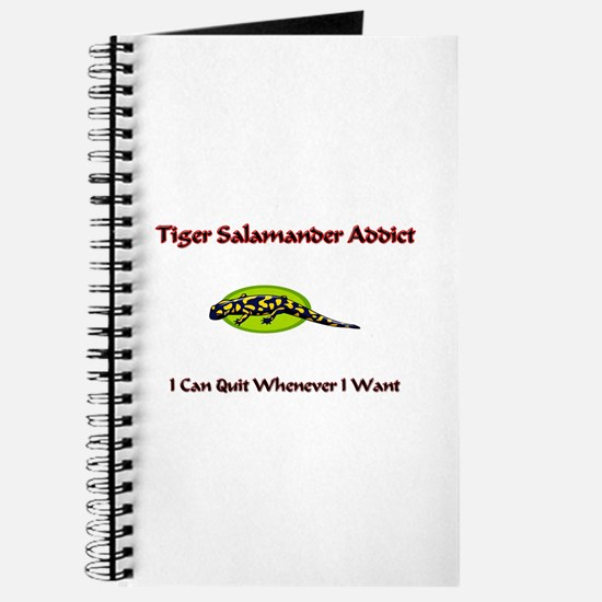 Tiger Salamander Addict Journal