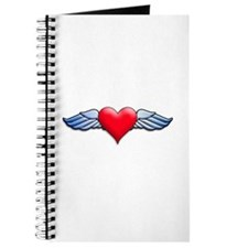 Heart with Wings Tattoo Inspired Journal