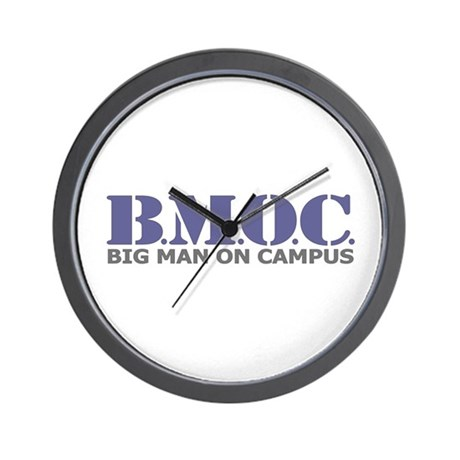 BMOC (Big Man On Campus) Wall Clock